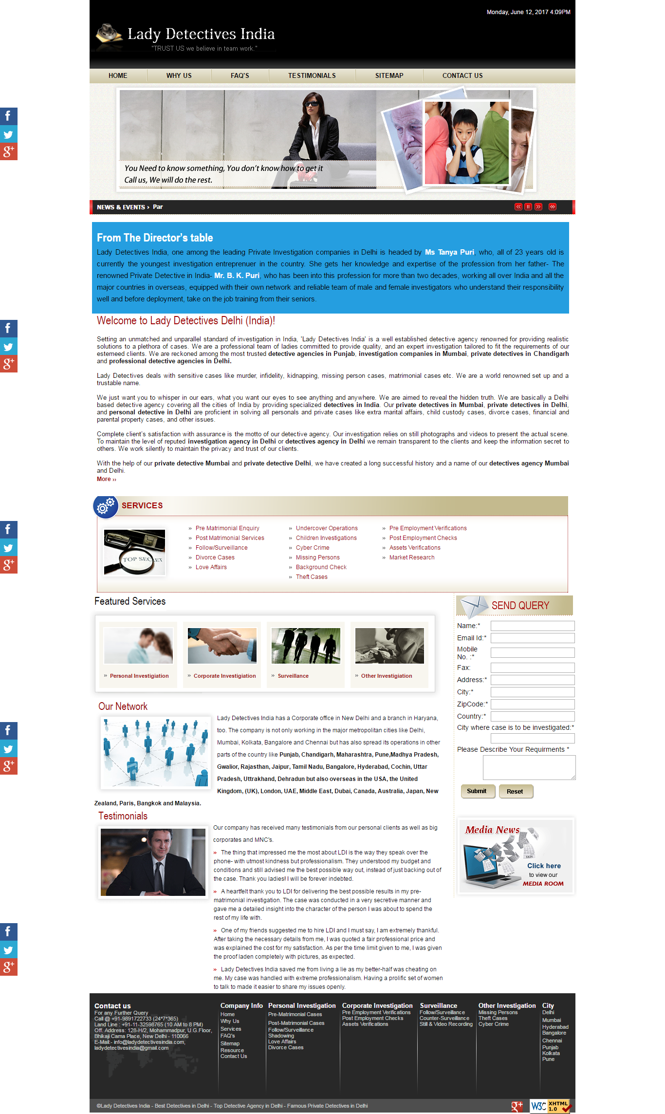 Web Designing, Development & SEO Company in Delhi - WebTech In India